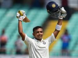 India Vs West Indies 100 Prithvi Shaw His Debute Test