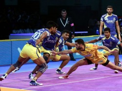 Pkl 2018 Puneri Paltan Vs Dabang Delhi Kc Delhi Bag First Victory This Season