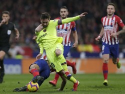 La Liga Embarrassig Defeat Real Dembele Saves Barcelona Point