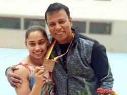 Artistic Gymnastics World Cup Dipa Karmakar Wins Bronze Vault Event
