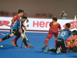 Hockey World Cup 2018 Spain Vs Argentina Match Report Argentina Wins In A 7 Goal Thriller
