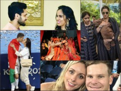 Flashback 2018 Marriages Engagement Children Achievements In Personal Lives Of The Sports Stars