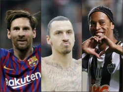 Zlatan Ibrahimovic Names His Dream Xi Omits Cristiano Ronaldo Includes Lionel Messi