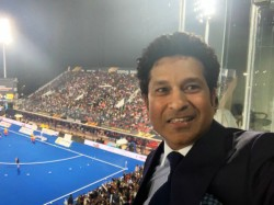 Hockey World Cup 2018 Sachin Tendulker Joins Other Celebrities In The Final Match