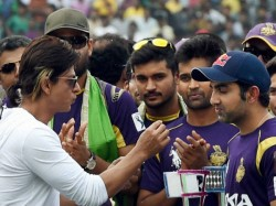 Gautam Gambhir S Retirement Shah Rukh Khan Has Suggestion His Captain