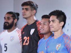 New Year Brings New Kit Indian Football Team