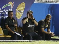 Maradona Involved Fracas After Dorados Promotion Hopes End