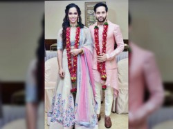 Saina Kashyap S Marriage See The Photo Album