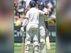 India Australia Melbourne Test Mayank Got Half Century