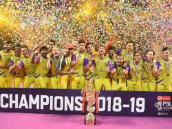 Pbl 2018 19 Bengaluru Raptors Beat Mumbai Rockets Lift Maiden Title