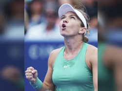 I Felt Like I Had Been Hit A Train Halep Upbeat Despite Losing Serena Battle