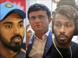 Pandya Rahul Controversy Sourav Ganguly Defends The Duo