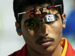 Shooting World Cup Saurabh Chaudhary Bags First Senior Gold With World Record