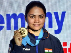 Beat Myself Today Says Apurvi After Winning Shooting World Cup Gold