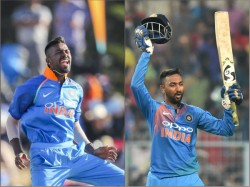 Hardik Kunal 3rd Pair Brothers Featuring Together Limited Over Cricket For India