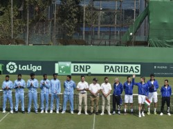 Davis Cup Qualifier Italy Take 2 0 Lead Over Clumsy India