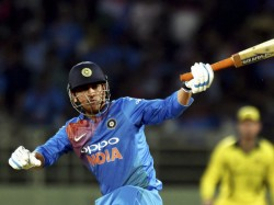 Slow Knock First T20i Against Australia Ms Dhoni Faces Heat On Twitter