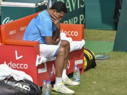 Davis Cup India Eliminated After Prajnesh Loses Seppi Tie Vs Italy