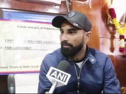 Mohammad Shami Donates Money Pulwama Martyrs Families