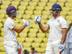 Irani Cup Vihari Made Hat Trick Hundreds Rest India Edge Over Vidarbha