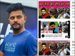 Suresh Raina Slams Fake Reports About His Death