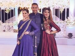 Sania Mirza S Sister Is Dating Son Former India Captain Azharuddin