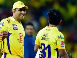 Ipl 2019 Ms Dhoni Trolls Kedar Jadhav Watch The Funny Video