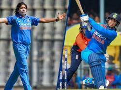 Jhulan Goswami Smriti Mandhana Are Top Icc Cricket Ranking