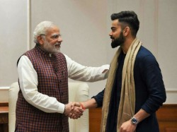 Prime Minister Narendra Modi Appeals Cricketers Make Democracy Win