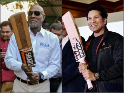 Sachin Tendulkar Pays Birthday Tribute His Batting Hero Sir Vivian Richards