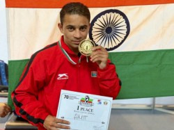 Amit Panghal Hands India Its First Gold In Asian Boxing Championships