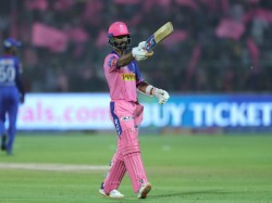 Ajinkya Rahane Hits Ton As Rr Score 191 For 6 Against Dc