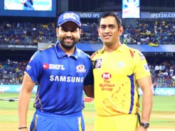 Ipl 2019 Mi Vs Csk Csk Win The Toss And Opt To Field First