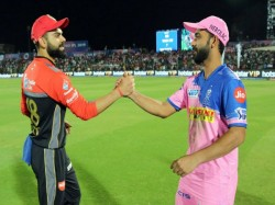 Rajasthan Won The Toss And Elected To Field Fast Against Bengaluru In Ipl