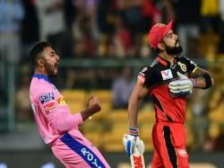 Ipl 2019 Shreyas Gopal Picks Hat Trick As Rcb Scores 62 For 7 Against Rr