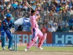 Riyan Parag S Unbeaten 50 Helps Delhi Score 115 For 8 Against Rajasthan