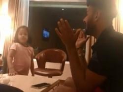 Ziva Dhoni Gives Hindi Lessons To Rishabh Pant See Video