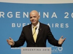 Gianni Infantino Re Elected As President Of Fifa For A Second Term