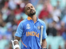 Heart Breaking News Shikhar Dhawan Out Of World Cup