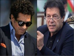 Imran Khan S Assistant Made Mistake Shares Sachin Tendulkar S Photo Claiming As Pakistan Pm