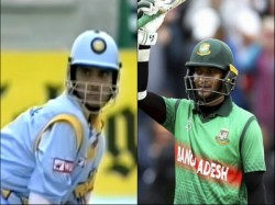 Shakib Al Hasan S Ton Brought Back Memories Of Sourav Ganguly S Innings Taunton 1999 Wc