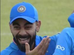 Virat Kohli S Reaction When Vijay Shankar Picking Wicket On