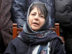 Mehbooba Mufti Belives Orange Jersey Ended India S Winning S