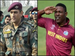Sheldon Cottrell Shares Video Of Dhoni Receving Padma Bhushan