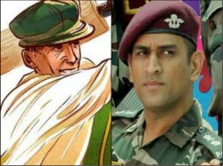 Dhoni In Indian Army Sir Donald Bradman Served As Lieutenat Now Dhoni Will Do That For His Country