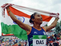 Sachin Modi Rishab Congratulate Hima Das After 5 Gold Medals