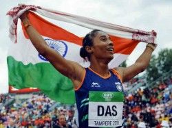 Athlete Hima Das Urged Everyone To Feed Animals During Lockdown