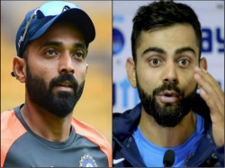 Virat Kohli Clears His Stands On Ajinkya Rahane