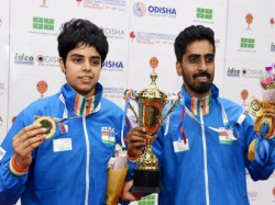 G Sathiyan And Archana Kamath Win Gold In Commonweath Tt