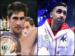 Vijender Singh Challenges British Boxer Amir Khan For Bout